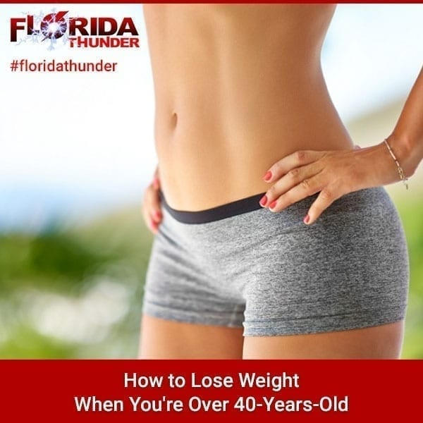Lose Weight When You're Over 40-Years-Old