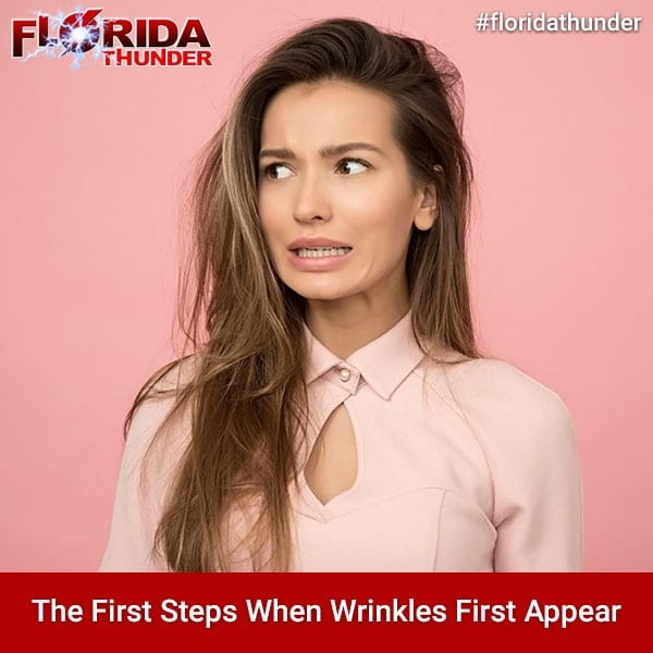 The First Steps When Wrinkles First Appear