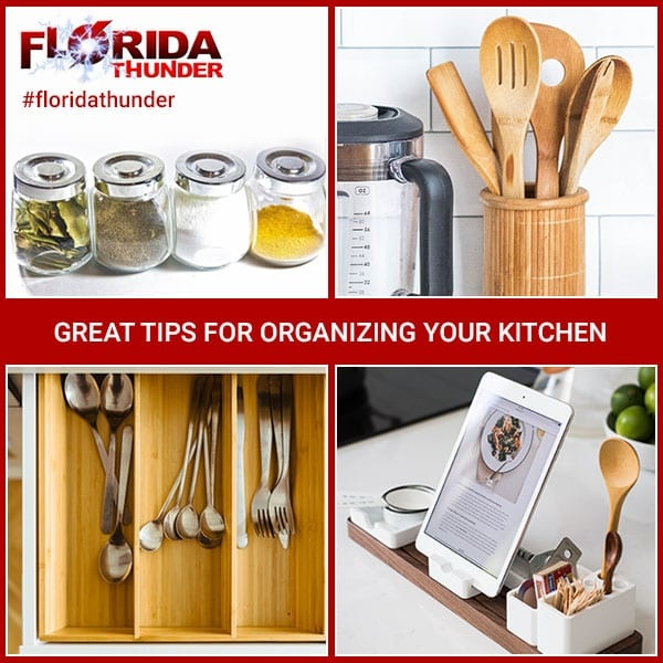 Great Tips for Organizing Your Kitchen