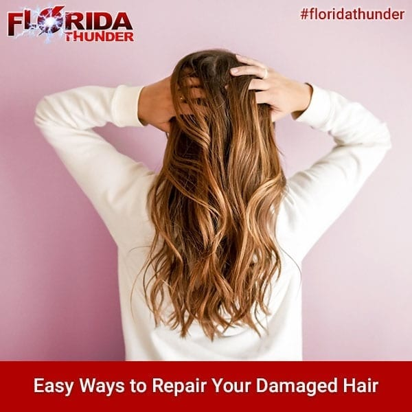 Easy Ways To Repair Your Damaged Hair